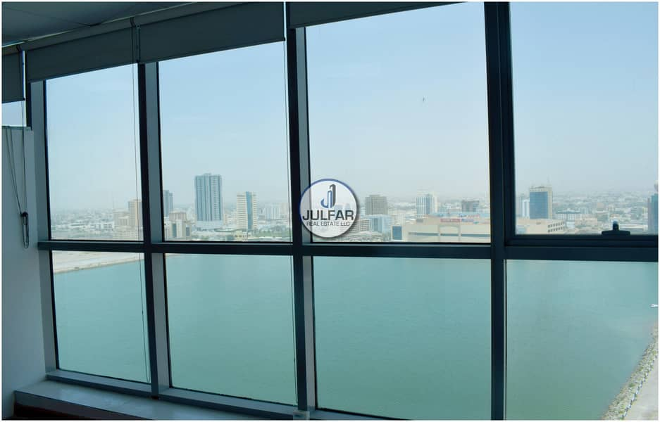 16 Partitioned Office Space For Sale in Julphar Tower