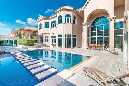 6 Bedroom Villa for Rent in Umm Suqeim, Dubai - Large Villa | Private Pool with Basement