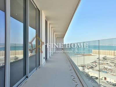شقة 4 غرف نوم للبيع في جزيرة السعديات، أبوظبي - 4 BR Apt / Sea Partial View Luxury Finishing