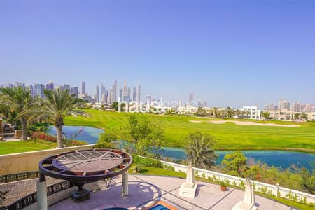 5 Bedroom Villa for Sale in Emirates Hills, Dubai - Golf and Skyline View | Basement | Negotiable