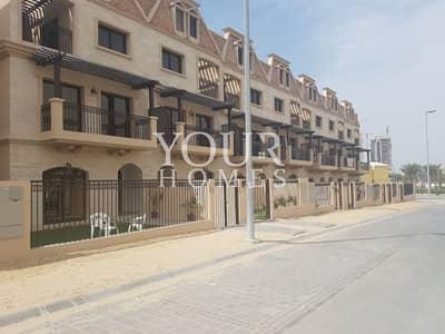 تاون هاوس 4 غرف نوم للايجار في قرية جميرا الدائرية، دبي - UK | Luxurious Finishing | Wooden Flooring