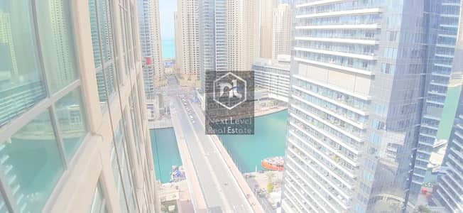2 Bedroom Flat for Rent in Dubai Marina, Dubai - UPGRADED TWO BED ROOM WITH MAID IN AL MAJARA 1-DUBAI MARINA