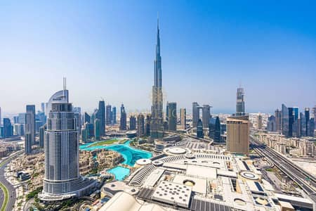High Floor | Brand New Furnished 2BR | Full Burj Khalifa + Fountain View