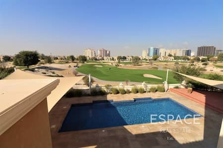 6 Bedroom Villa for Rent in Dubai Sports City, Dubai - ElS Course Views | Private Pool | Vacant 6BR
