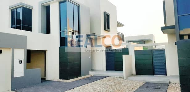 4 Bedroom Townhouse for Sale in Dubai Hills Estate, Dubai - MOTIVATED SELLER MAPLE TYPE 2 END VILLA