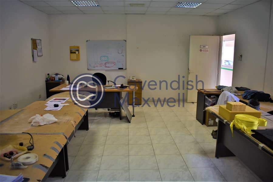 2 Columnless Warehouse | Large Plot | Fitted Office