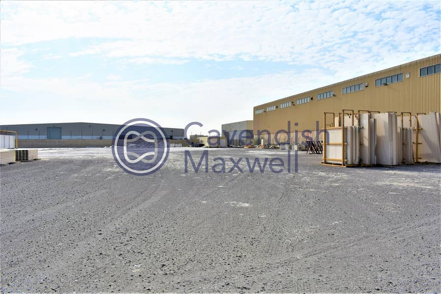 10 Columnless Warehouse | Large Plot | Fitted Office