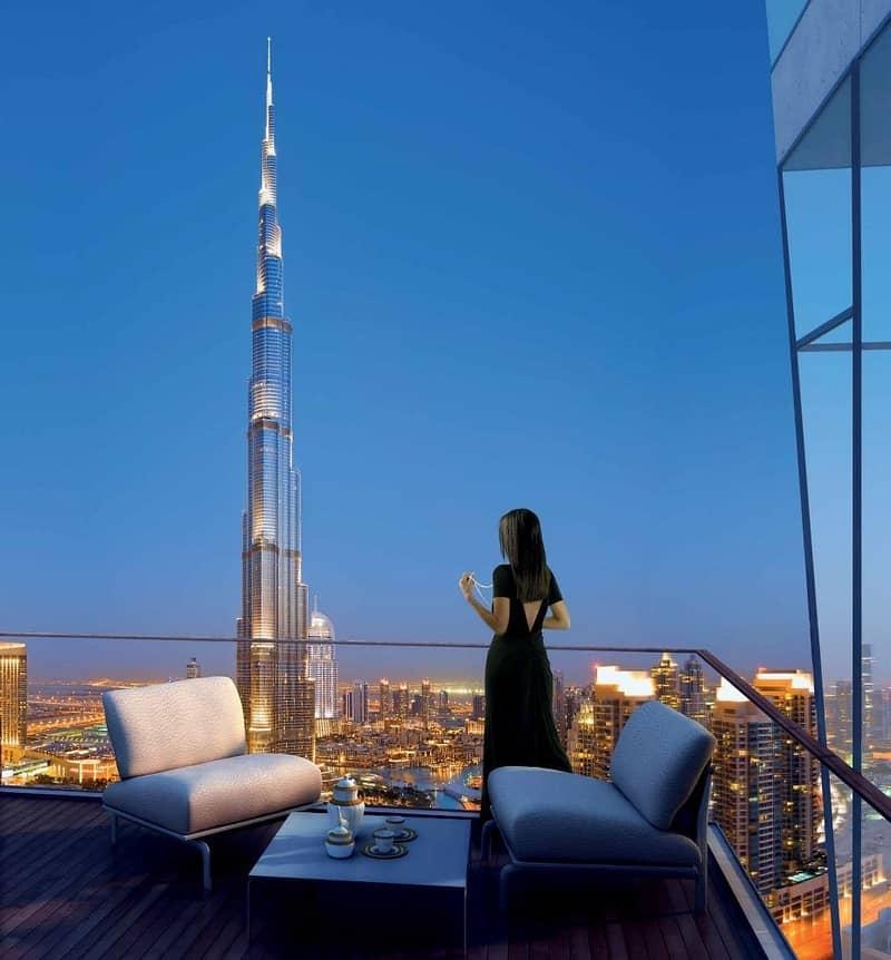 2 4 Bedroom | Penthouse | Full Burj Khalifa View