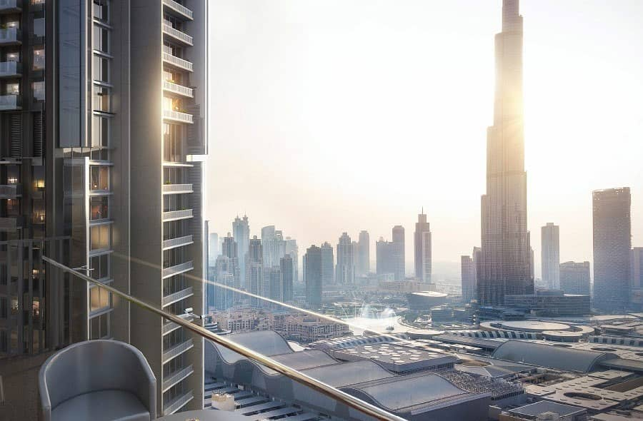 2 2 Bedroom l Full Burj Khalifa & Fountain View
