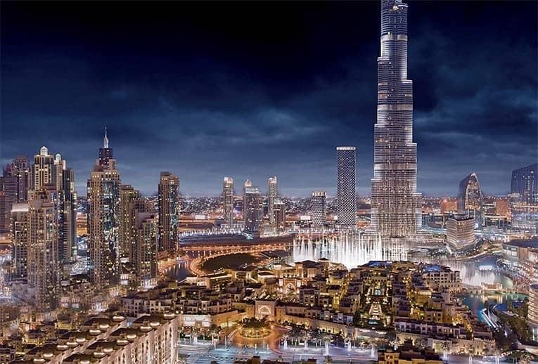 10 4 Bedroom | Penthouse | Full Burj Khalifa View