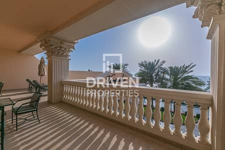 2 Bedroom Apartment for Rent in Palm Jumeirah, Dubai - Fully Furnished 2 Bed Unit with Sea View
