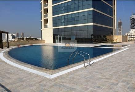 Studio for Rent in Jumeirah Village Circle (JVC), Dubai - PAY 6CHQS   LARGE STUDIO LAYOUT