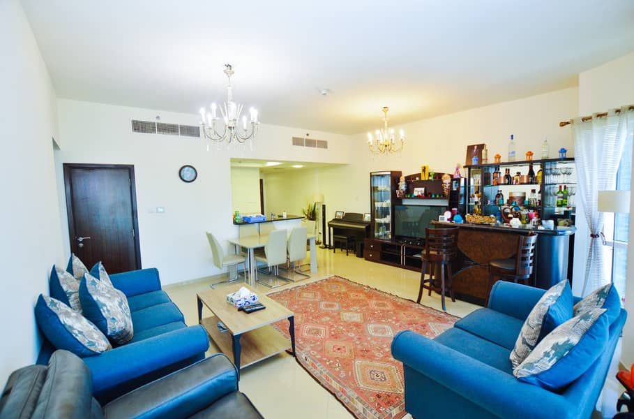 Fully Furnished, Lake View, 2BR