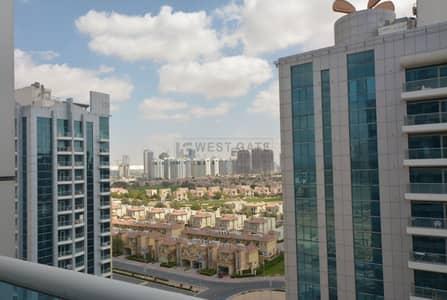 فلیٹ 1 غرفة نوم للايجار في مدينة دبي الرياضية، دبي - F. Furnished | High Floor | Community Views