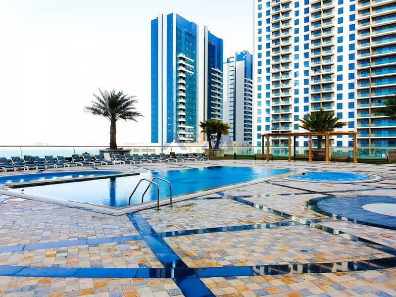HOT  OFFER ! NO Commission NO Chiller fee  Luxury 2BHK Apartment in Reem