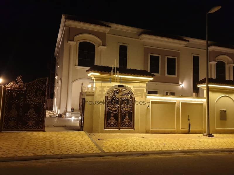 Super Luxury  5BHK + Maids Villa with Garden