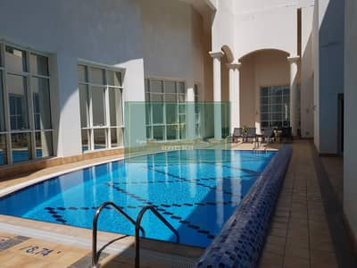 فلیٹ 3 غرف نوم للايجار في منطقة النادي السياحي، أبوظبي - Sea View!! 3 Bed+maids-room with gym