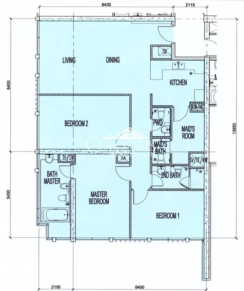 14 3-BR plus Maid's at Different Purchase Options