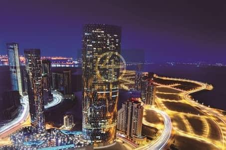 1 Bedroom Flat for Rent in Al Reem Island, Abu Dhabi - Panoramic sea view in sun/sky community