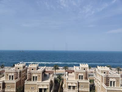 فلیٹ 3 غرف نوم للايجار في نخلة جميرا، دبي - Amazing Full Sea View -Balqis 3BR+Maid's-Brand New