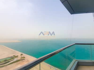 1 Bedroom Flat for Rent in Al Reem Island, Abu Dhabi - Sea View 1 Bed Apartment ! No Chiller Fee.