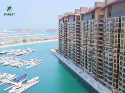شقة 2 غرفة نوم للبيع في نخلة جميرا، دبي - Spacious 2 BR Type C with Sea View Fully Furnished