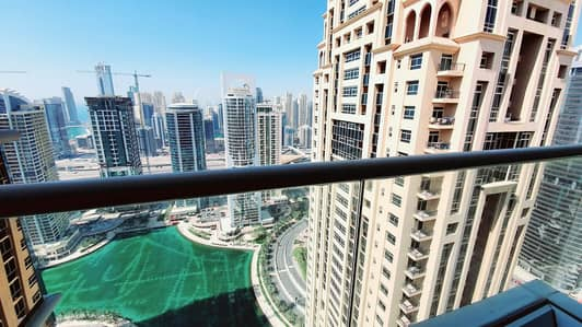 2 Bedroom Flat for Rent in Jumeirah Lake Towers (JLT), Dubai - FURNISHED 2 BEDROOM  - HIGH FLOOR - GORGEOUS SEA &LAKE VIEWS- IN GOLDCREST VIEWS 2