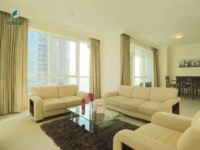 فلیٹ 2 غرفة نوم للبيع في جميرا بيتش ريزيدنس، دبي - Fully Furnished 2 Bedroom plus Maid with Sea View