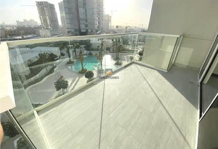 Studio for Rent in Jumeirah Village Circle (JVC), Dubai - LARGE STUDIO | UNFURNISHED WITH BALCONY