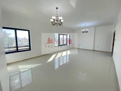 3 Bedroom Apartment for Rent in Danet Abu Dhabi, Abu Dhabi - Excellent 3 Bedroom Apartment with Maids room and Builtin  Wardrobes in Danet  Area 90