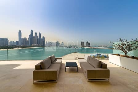 4 Bedroom Apartment for Sale in Palm Jumeirah, Dubai - Private Pool Apartment with Flawless Views