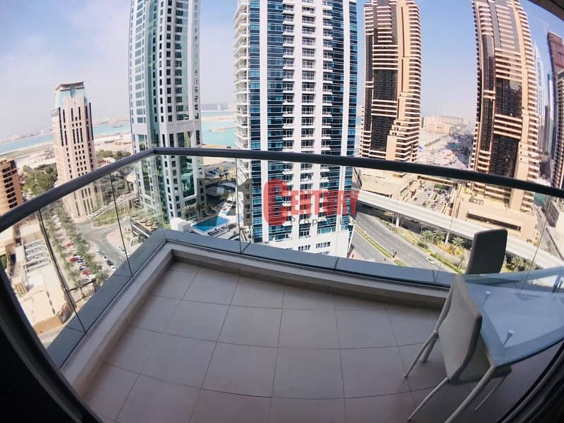 2 Sea View 2 BR + Study in Sky View Tower