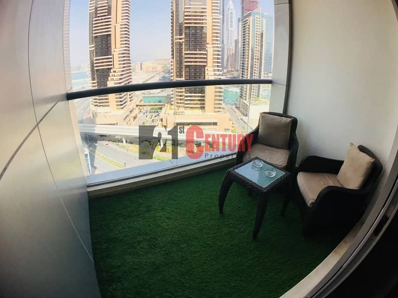 10 Sea View 2 BR + Study in Sky View Tower