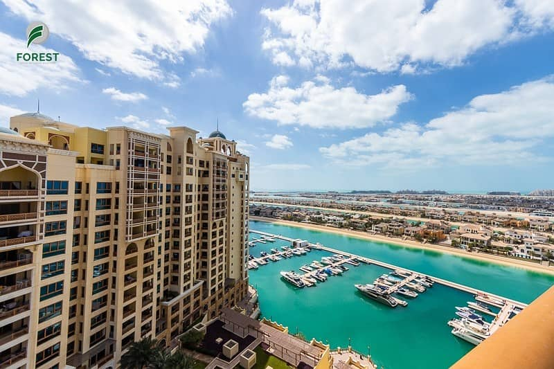Sea View | Vacant 2BR | Type D | Huge Balcony