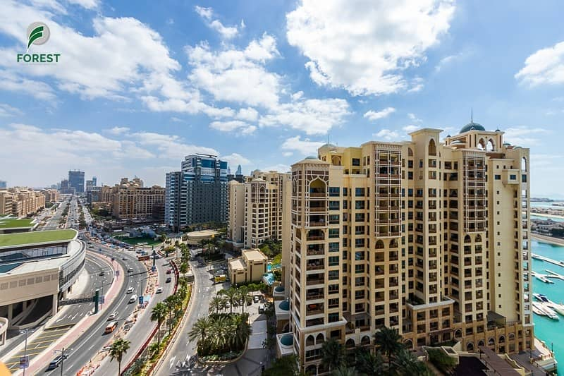 14 Sea View | Vacant 2BR | Type D | Huge Balcony