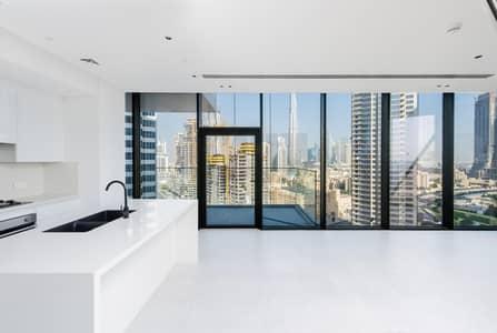 فلیٹ 2 غرفة نوم للايجار في الخليج التجاري، دبي - Stunning Studio | Burj Khalifa View | Great Location