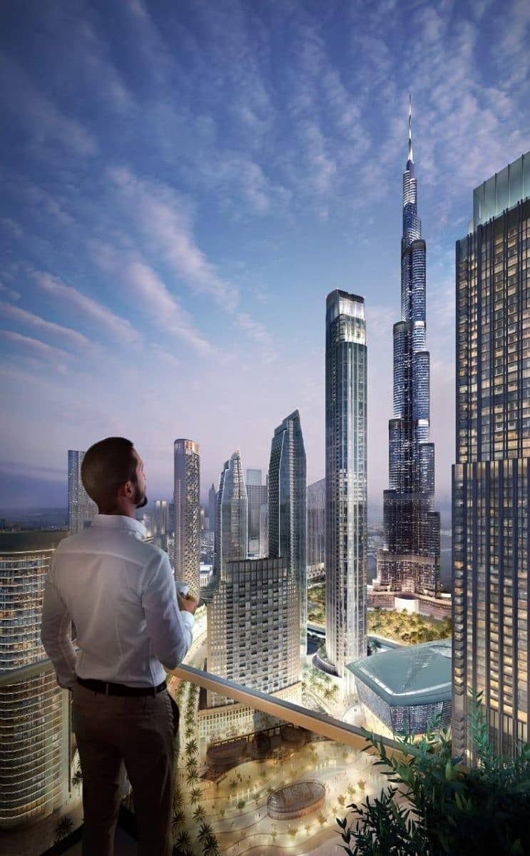 2 let's begin your prestigious life Here near burj elkhalifa