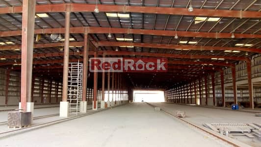 Factory for Rent in Dubai Investment Park (DIP), Dubai - Factory Shed of 185000 Sqft 2100 KW Power in DIP