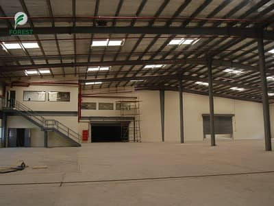 Warehouse for Sale in Dubai Industrial Park, Dubai - Brand New Semi Fitted Warehouse Unfurnished