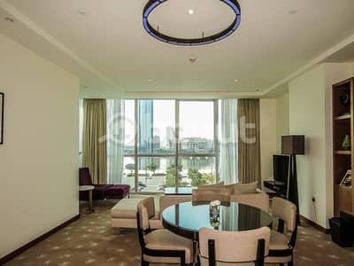 1 Bedroom Apartment for Rent in Al Garhoud, Dubai - Spacious Living Room