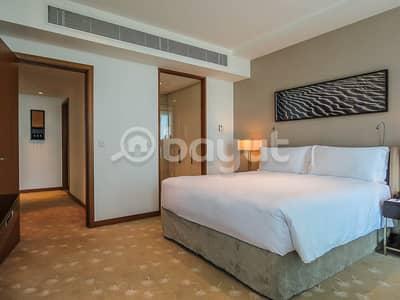 1 Bedroom Hotel Apartment for Rent in Al Garhoud, Dubai - Bedroom