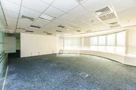 Office for Rent in Sheikh Zayed Road, Dubai - Chiller Included | Fitted and Partitioned