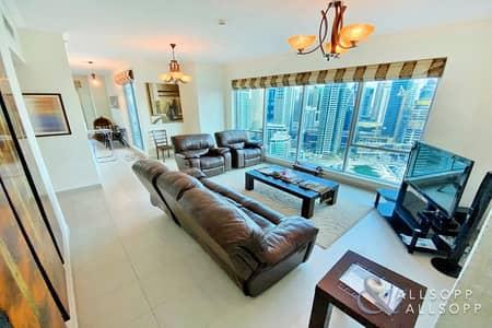 3 Bedroom Apartment for Sale in Dubai Marina, Dubai - Full Marina View | Exclusive | 2098 Sq Ft