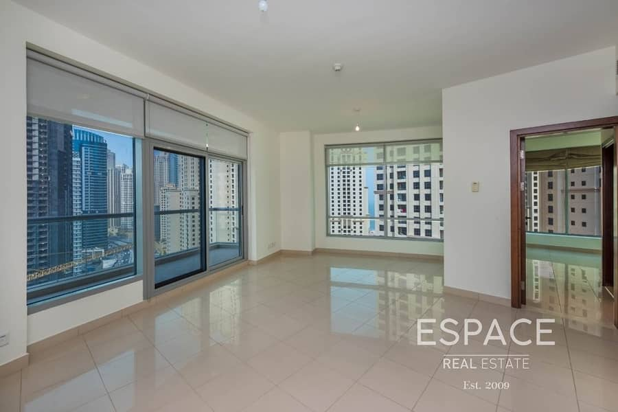 2 Unfunished | High Floor | Emaar
