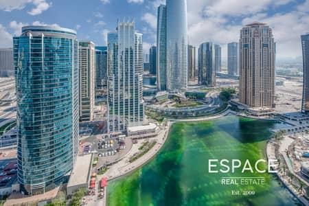 1 Bedroom Apartment for Sale in Jumeirah Lake Towers (JLT), Dubai - Vacant | Great Lake View | 1 Bedroom