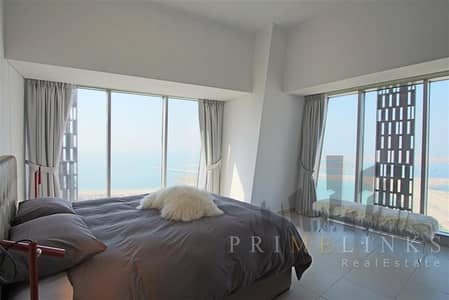 2 Bedroom Apartment for Rent in Dubai Marina, Dubai - Furnished 2 Bedrooms Sea View Chiller included