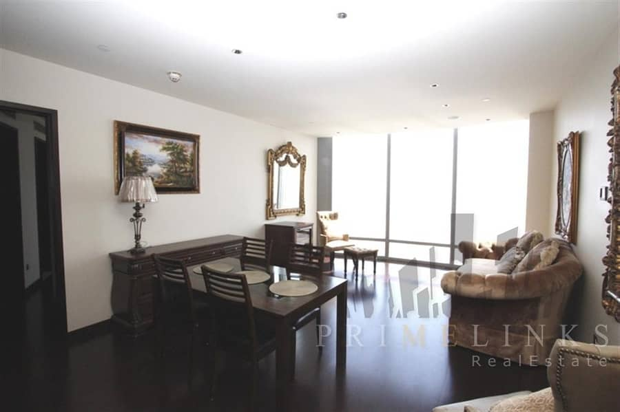 2 Luxurious Property with One Bedroom in Burj Khalifa with Spectacular Fountain View