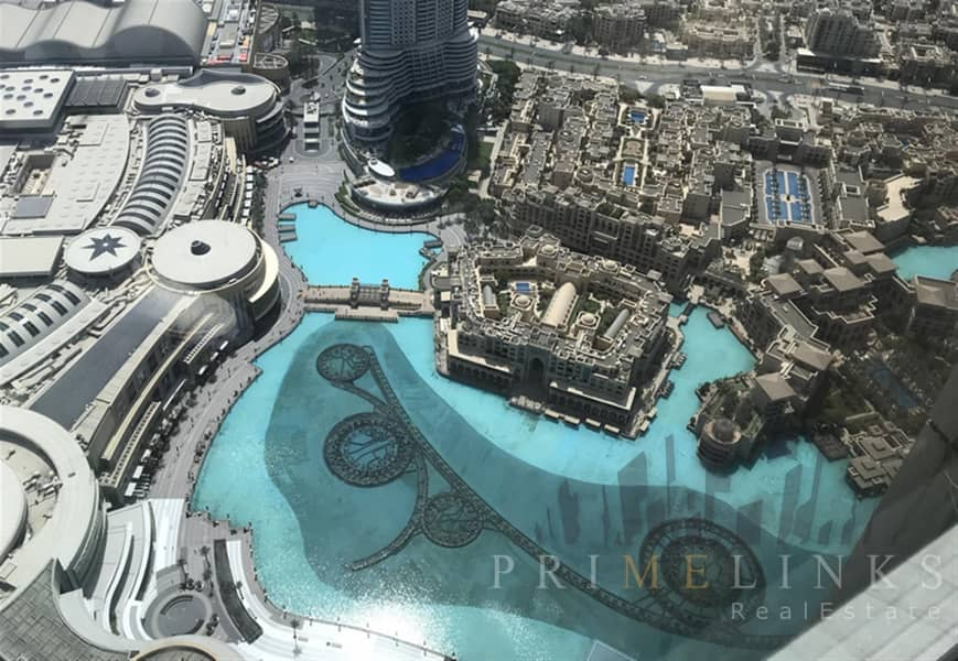 Stunning Fountain View One Bedroom Furnished