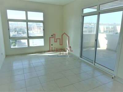 1 Bedroom Flat for Rent in Al Nahyan, Abu Dhabi - Huge size for 1BR villa compound