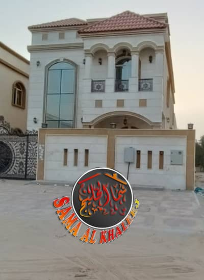 5 Bedroom Villa for Rent in Al Rawda, Ajman - Villa for rent first inhabitant - central air conditioning